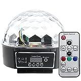 RPGT® Disco DJ Lichteffekt Discokugel LED Licht DMX512 RGB Projektor mit Fernbedienung
