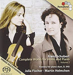 Schubert: Complete Works for Violin and Piano, Vol. 2
