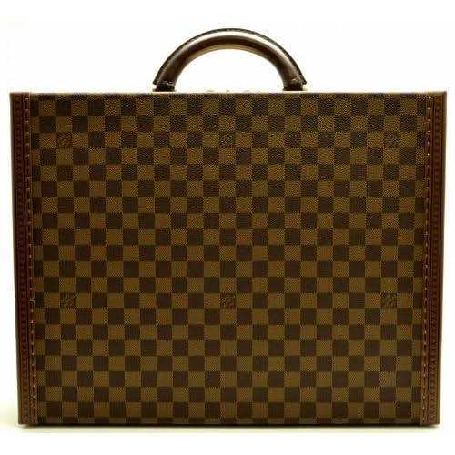[ルイ ヴィトン] LOUIS VUITTON ダミエ プレジデント スーツケース ビジネスバッグ 旅行カバン M53012 スペシャルオーダー [中古]