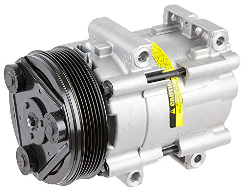 New Premium Quality Ac A/C Compressor & Clutch For Ford Truck Bronco & Mustang - BuyAutoParts 60-01255NA New