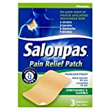 Salonpas Pain Relief Patch - Medicated Plaster 3