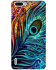 Huawei Honor 6 plus Back Cover Designer Hard Case Printed Cover