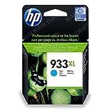 HP 933XL Cyan Original High Capacity Printer Ink Cartridge HP933XL - Fits HP Officejet 6100, 6600, 6700,