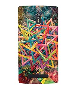 printtech Abstract Design Pattern Back Case Cover for Oppo Find 7 QHD