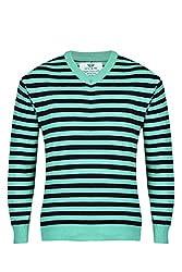 UV&W Sleeveless V-Neck Men's Black Sweater