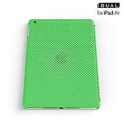 IRUAL MESH SHELL CASE for iPad Air - Green