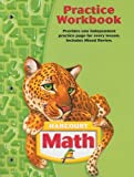Harcourt School Publishers Math: Practice Workbook Student Edition Grade 5
