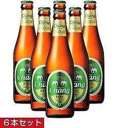 【タイ土産】チャーンビール6本セット(タイみやげ)