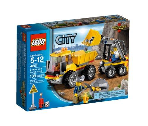 Lego City 4201 - Bagger mit Kipplaster
