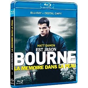 La Mémoire dans la peau [Blu-ray + Copie digitale]