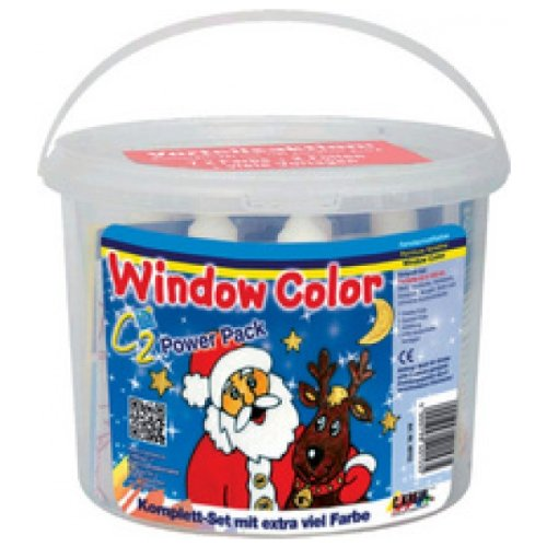 C.KREUL Window Color Hobby Line C2, Set Merry Christmas
