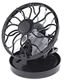 Chariot Trading - 5pcs/lot, Clip-on Solar Cell Fan Sun Power Energy Panel Cooling Cooler - CJ-BG-000122