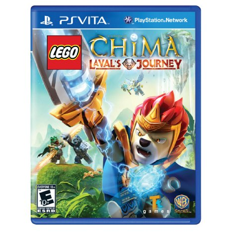 Lego Legends Of Chima: Laval'S Journey - Playstation Vita front-1050894