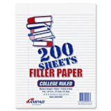 Ampad Filler Inches College 26 023