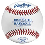 Rawlings Dixie Youth Baseball Stamped Competiton Grade Baseball (Pack of 12)