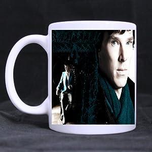 TV Series Sherlock Custom Ceramic Coffee White Mug