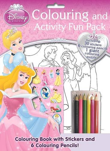 Disney Princess Colouring and Activity Fun Bag (Disney Fun Pack)