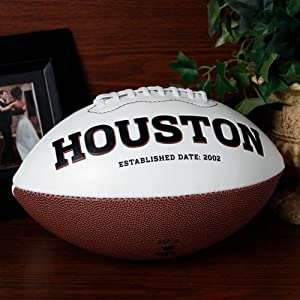 NFL Houston Texans Signature Series Team Full Size Footballs by The License Products Company
