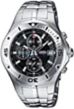 CASIO Collection MTD-1057D-1AVES - Reloj de caballero de cuarzo, correa de acero inoxidable color plata