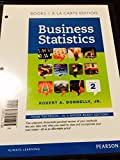 img - for Business Statistics, Student Value Edition (2nd Edition) book / textbook / text book