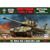 Flames of War Model Kit - M26 Pershing Platoon Tank - 1:100 Scale - UBX43 - New by Flames of War