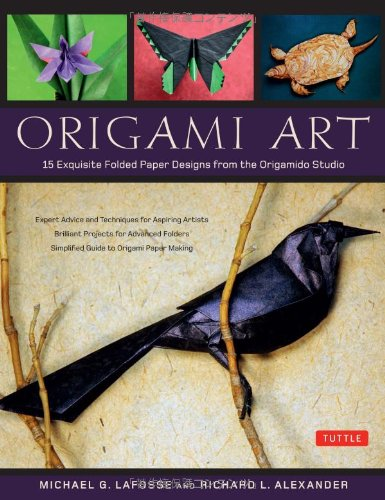 Origami Art: 15 Exquisite Folded Paper Designs from the Origamido