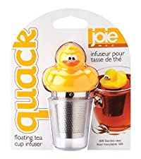 Joie Quack Duck Floating Tea Infuser, 18/8 Stainless Steel Infuser