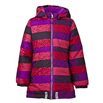 LEGO Wear Girls Hooded Jacket Purple - Violett (639 PURPLE) 4 Years