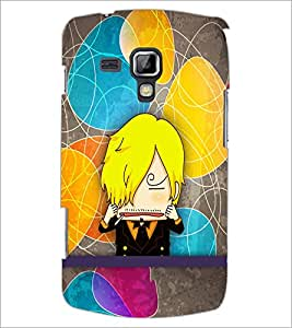 PrintDhaba Cartoon D-5795 Back Case Cover for SAMSUNG GALAXY S DUOS 2 S7582 (Multi-Coloured)