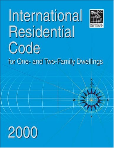 International residential code 2000 for one two family for International residential code irc