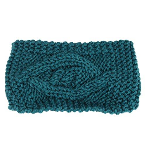 ♥ Loveso ♥-Mütze Mode Frauen-Winter-warme Hut-Ski-Kappe Gestrickte Leere Schädel Mütze Stirnband
