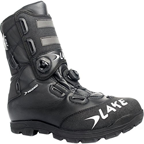 Lake MXZ400 Winter Cycling Boot - Men's Black/Silver, 46.0 (Lake Winter Cycling Shoes compare prices)