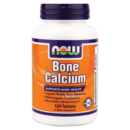 Now Foods Bone Calcium - 120 Tabs ( Multi-Pack)