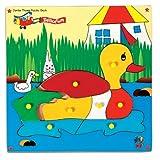 Skillofun Skillofun Jumbo Theme Puzzle Duck Knobs Multi Color