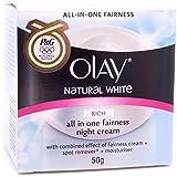 Olay Natural White Healthy Fairness Night Cream 50g