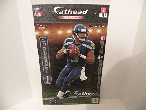 Russell-Wilson-FATHEAD-Seatlle-Seahawks-Official-NFL-Vinyl-Wall-Graphic-17-INCH