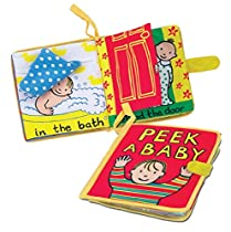 Jellycat My Peek A Baby Book (Cloth Book)