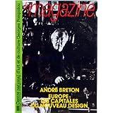MAGAZINE DU CENTRE POMPIDOU (LE) [No 62] du 15/03/1991 - ANDRE BRETON ET LE CINEMA - LE NOUVEAU DESIGN EUROPEEN...