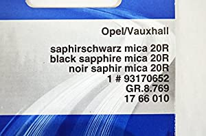 93170652 : TOUCH UP PAINT KIT - BLACK SAPPHIRE 20R / 2HU- Genuine OE - from LSC by Genuine GM