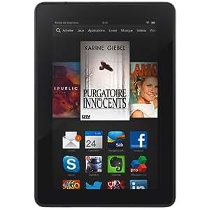 """Kindle Fire HDX 7"""" (17 cm), écran HDX, Wi-Fi, 16 Go - avec offres spéciales (Précédente Génération - 3ème)"""