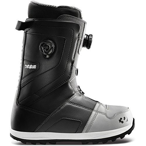 thirtytwo Men's Binary Boa 12 Snowboard Boot,Grey/Black,7 C US