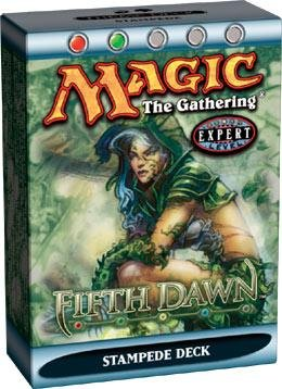 Magic the Gathering Fifth 5th Dawn Deck Stampede by Wizards