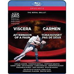 Carmen - Viscera - Afternoon of a Faun - Tchaikovsky pas de deux [Blu-ray]