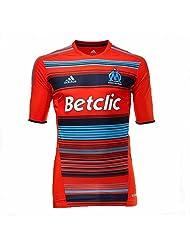 Adidas-Maillot Officiel match OM Olympique Marseille Techfit O58276