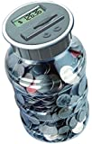 Digital Energy Coin Bank Savings Jar - Digital Coin Counter for all U.S. Coins including Dollars and Half Dollars