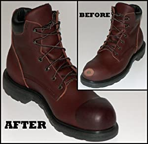 work boot doctor leather repair protection kit