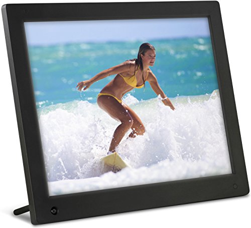 Latest Model – NIX 12 inch Hi-Res Digital Photo Frame with Motion Sensor & 4GB Memory – X12C