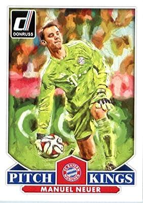 2015 Donruss Pitch Kings #18 Manuel Neuer FC Bayern Munich Soccer Card