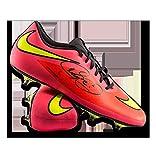 Neymar Jr Autographed Signed Peach Nike Hypervenom Phantom Boot - Certified Authentic