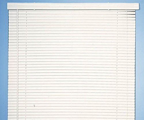 Achim Home Furnishings Morning Star 1-Inch Mini Blinds, 34 by 48-Inch, White